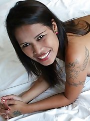 Lovely Thai MILF enjoys getting pussy smashed by foreign visitors cock