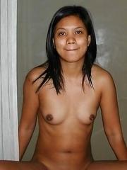 Naughty Malaysian babe posing naked for BF